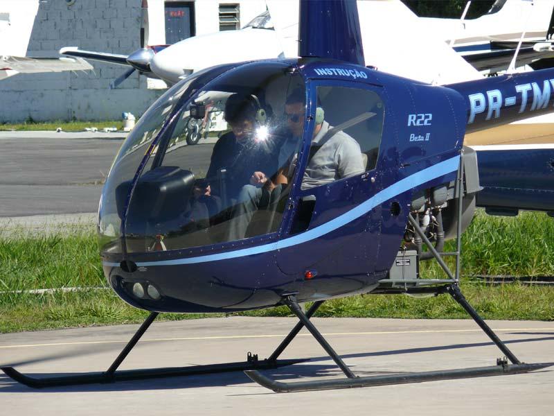 Convalidação de licenças de pilotos de helicóptero