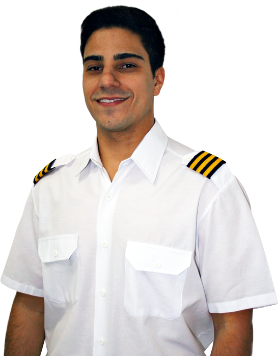 Renan Cardelote piloto de helicóptero escola Go Air