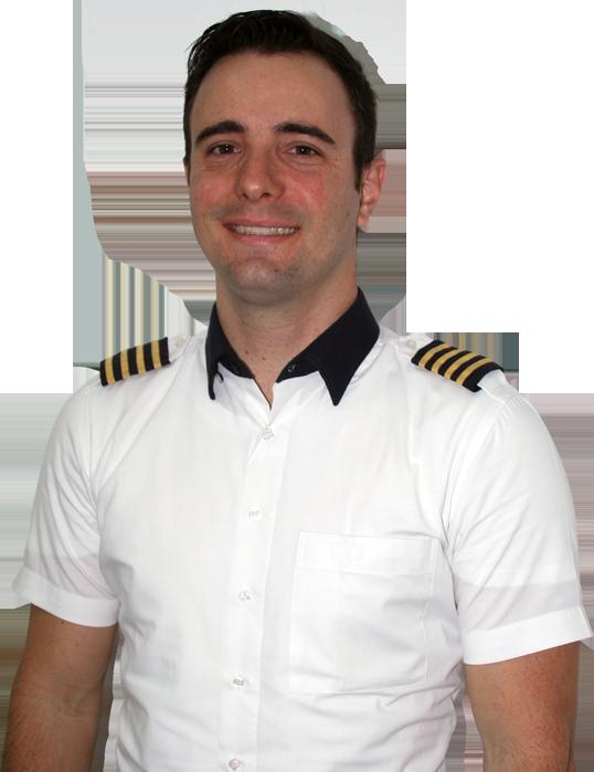 Vinicius Marangon piloto de helicóptero escola Go Air